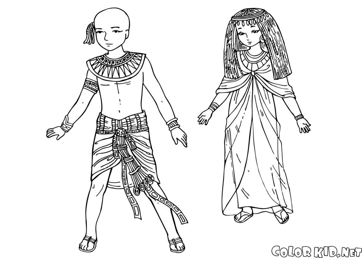 Dzieci starożytnego Egiptu