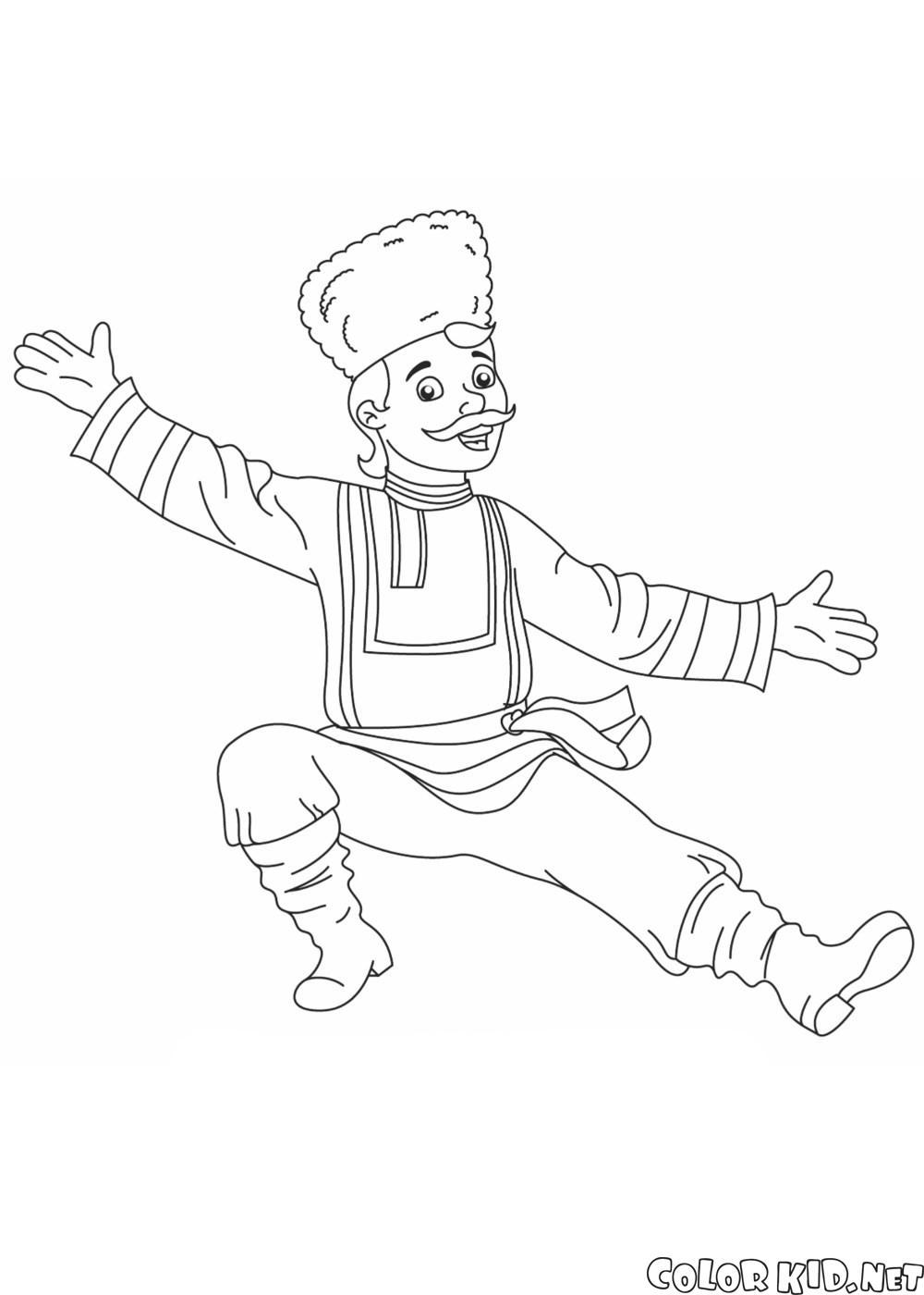 Rosyjski tancerz