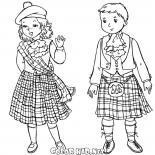 Szkockie dzieci
