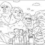 Rzeźby z Mount Rushmore
