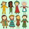 Dzieci w tradycyjnych strojach